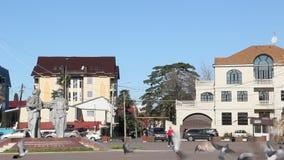 Park w centre Adler zdjęcie wideo