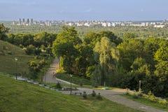 Park w dużym mieście Zdjęcia Stock