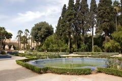 Park w Fes, Maroko, Afryka Zdjęcie Stock