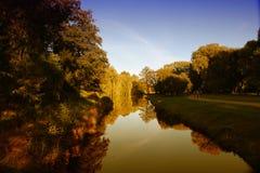 Park w jesieni Fotografia Royalty Free