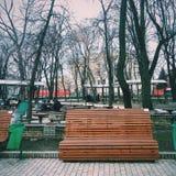 Park w Kijów Fotografia Royalty Free