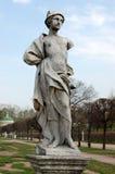 Park w Kuskovo, nieruchomość Sheremetev rodzina Obrazy Stock
