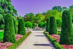 Park w Madryt zdjęcia royalty free