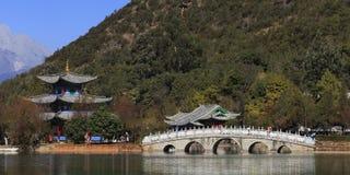 Park w miasteczku Lijang Chiny Zdjęcie Royalty Free