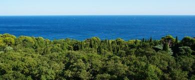 Park w morzu Zdjęcia Stock