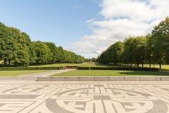 Park w Oslo Obraz Stock