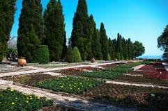 Park w pałac królowa Maria Rumunia Obraz Stock