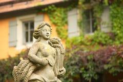 Park w Rothenburg, Bavaria, Niemcy obraz royalty free