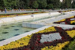 Park w Sofia, Bułgaria obraz stock