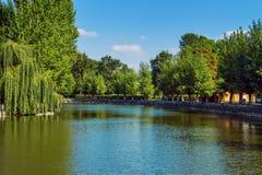 Park w Ternopil Obraz Royalty Free