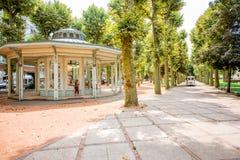 Park w Vichy mieście, Francja Obrazy Royalty Free