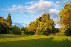 Park w Vordingborg Dani obrazy stock