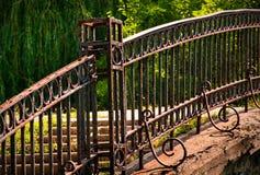 Park Walk Bridge Stock Photo