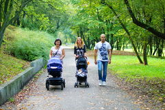 Park walk Royalty Free Stock Images
