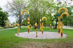 Park of walking stick. Sigulda, Latvia Stock Photo