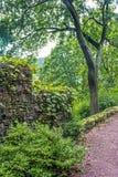 Park Wall Jim Thorpe Stock Image