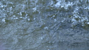 Park water fountain stream slow motion stock footage