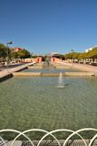 Park west of Malaga Royalty Free Stock Photos