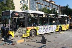 PARK-WIDERSTAND TAKSIM GEZI, ISTANBUL. Lizenzfreie Stockfotografie