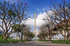 Park wokoło Rama8 mosta Fotografia Royalty Free