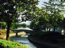Park in Wuxi Stock Images