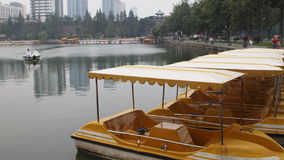 Park yachts Stock Photography