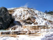 park yellowstone Royaltyfria Bilder