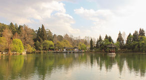 Park at Yunnan, China Royalty Free Stock Images