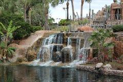 Park z fontanną Obrazy Stock