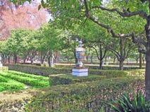 Park z roślinami Zdjęcia Stock
