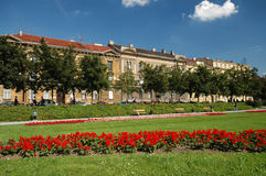 Park in zagreb Royalty Free Stock Photography