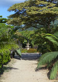 Park zone Le Domaine Les Pailles. Mauritius Royalty Free Stock Photography