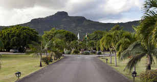 Park zone Le Domaine Les Pailles. Mauritius Royalty Free Stock Photo