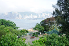 Park zone in tsim sha tsui Royalty Free Stock Photos