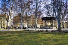 Park Zrinjevac in Zagreb Stock Images