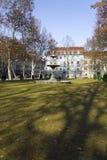 Park Zrinjevac in Zagreb Royalty Free Stock Images
