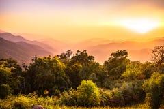 Parka Narodowego krajobraz, phusawan chongyen Fotografia Royalty Free