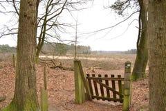 Parka Narodowego teren zamknięty w spadku zdjęcie royalty free