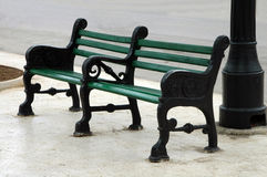 Parkbench Images stock