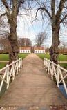 Parkbrücke Stockfotos