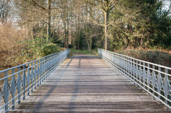 Parkbrug Stock Foto