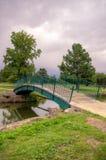 Parkbrug Royalty-vrije Stock Afbeelding