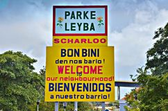 Parke Leyba Curacao Image stock