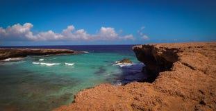 Parke Nacional Arikok Aruba Fotos de Stock Royalty Free