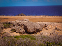 Parke Nacional Arikok Aruba Fotos de archivo libres de regalías