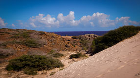Parke Nacional Arikok Aruba Foto de archivo