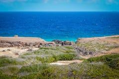 Parke Nacional Arikok Aruba Royalty Free Stock Photography