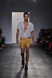 Parke Ronen - εβδομάδα μόδας της Νέας Υόρκης στοκ φωτογραφία