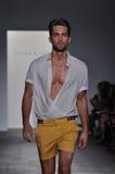 Parke Ronen - de Modeshow van New York Stock Foto