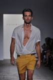 Parke Ronen - New York Fashion Show Stock Photo